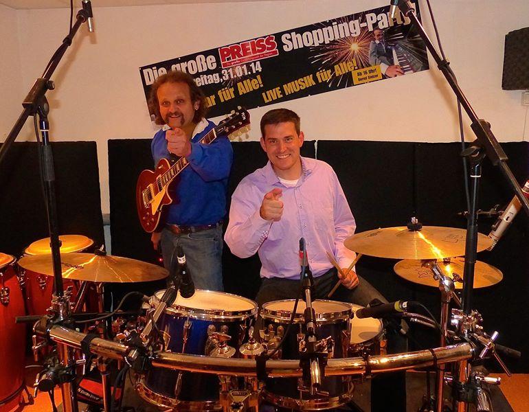 The Icebreakers in den Marksburg-Studios